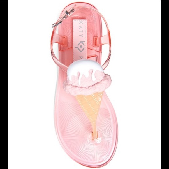 Katy Perry Ice Cream Jelly Sandals